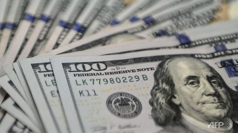 dollar slips against euro ahead of us inflation data