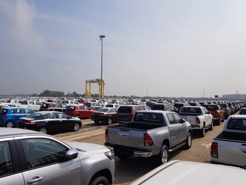 no announcement of opening declaration for importing and car trading from enterprises