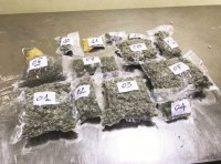 mass arrests of air transported marijuana