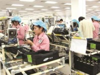 nearly 155 billion usd comes from telephone export in five years