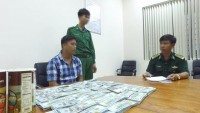 tay ninh hot smuggling spot of money and foreign currency
