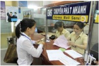 receiving and returning the results of administrative procedures through the post office