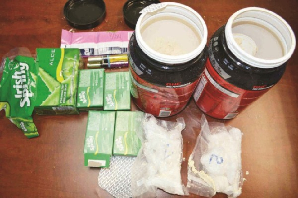 siezed many cases of drug smuggling airline part 1 drugs are transported by express