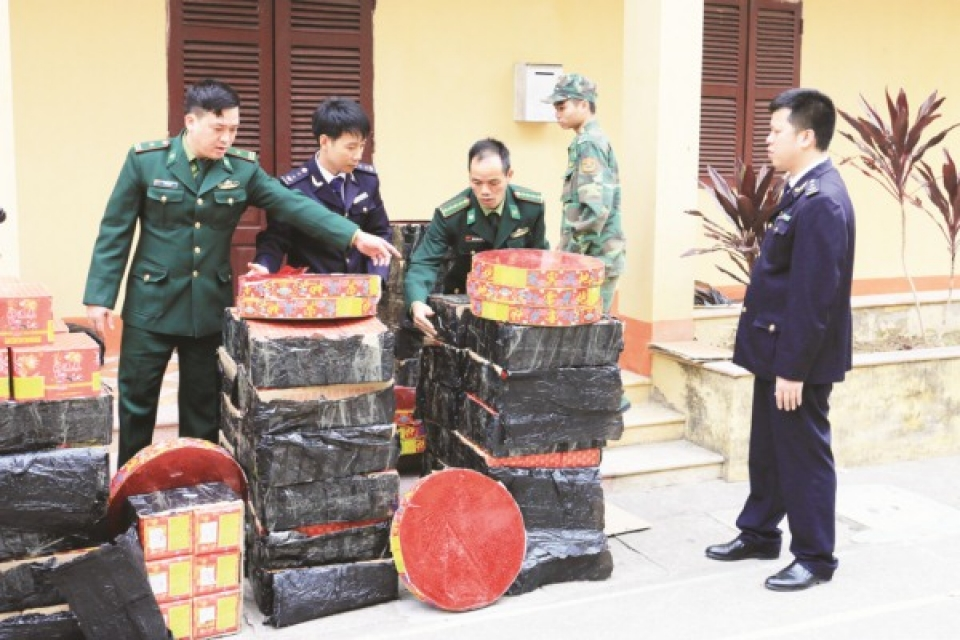 lang son custom department strengthen anti smuggling at trails paths