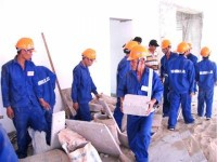 insurance premiums for construction workers at the highest of 12 million vnd