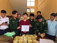 central vietnam is hot with drug smuggling