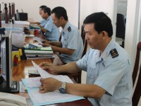 can tho customs preventing state losses and handling tax debts
