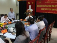 nearly 100 of businesses in hai phong perform electronic tax declaration