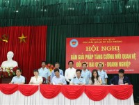 hai phong customs and the business community are committed to implementing 10 contents