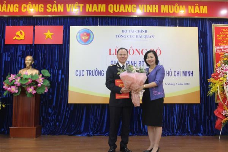 mr dinh ngoc thang is appointed as the director of the hcm city customs department