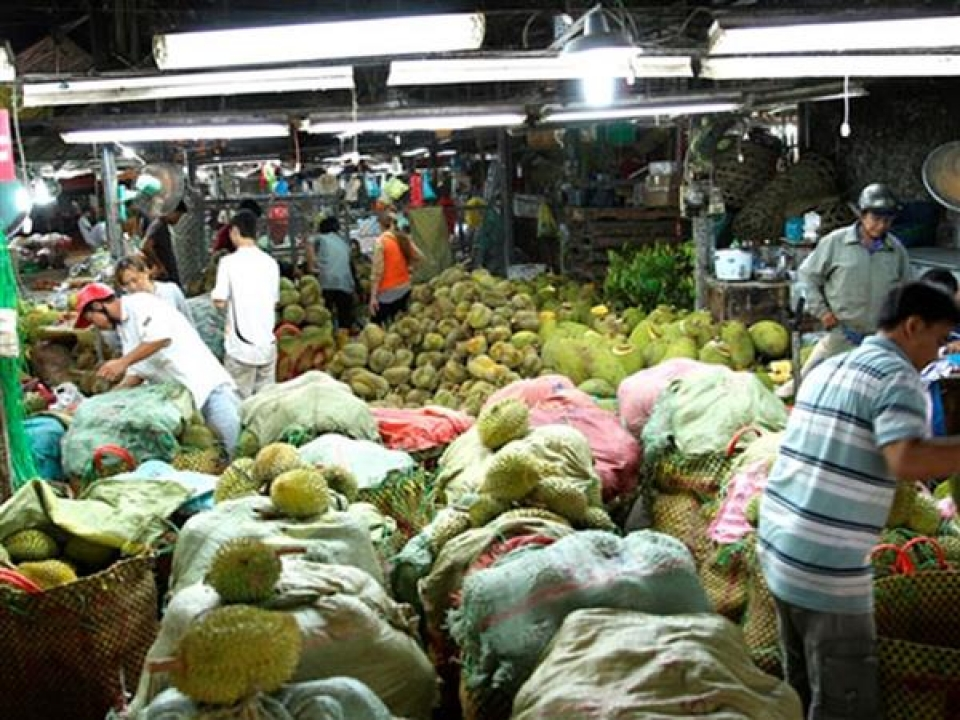 rotate the policies to develop wholesale markets
