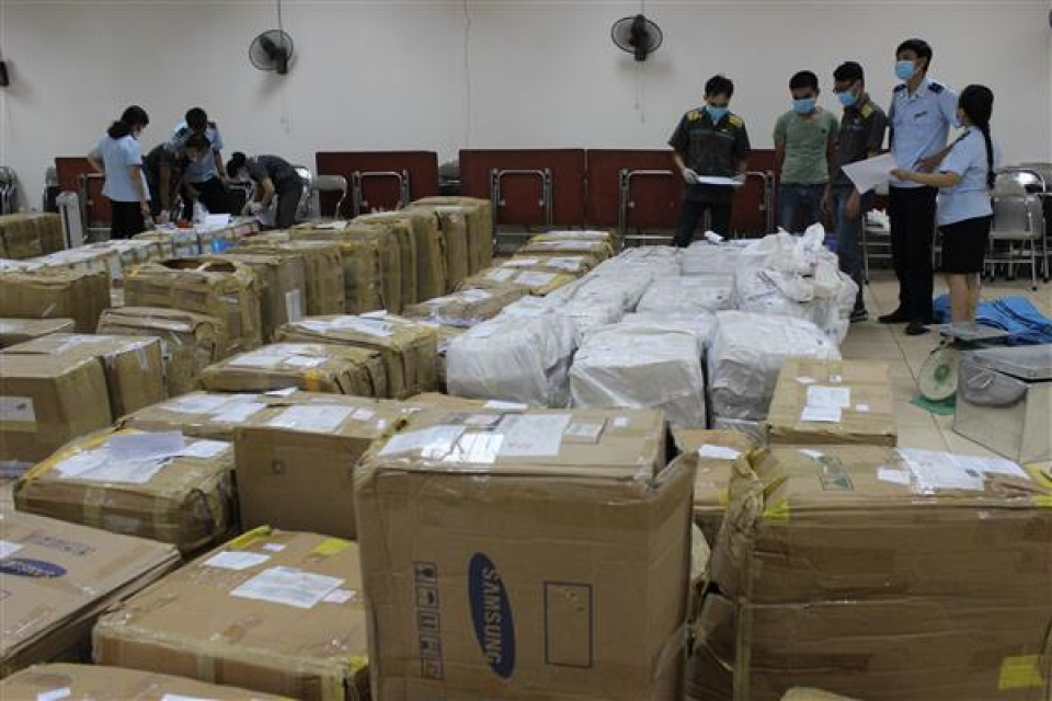 the customs has seized 25 tons of transnational drugs