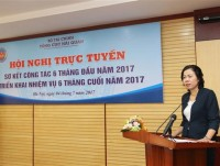 the deputy minister of finance mrs vu thi mai the customs actively and fiercely implements modernization reform