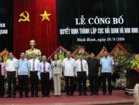 ha nam ninh department of customs established