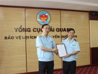 mr luu manh tuong appointed as director of the import and export taxation department