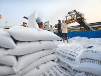 the rice market improved by exporting through minor gates