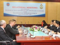 vietnam customs and australia customs promote cooperation in training and exchange of information