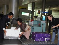 tan son nhat customs branch no congestion in tet holiday