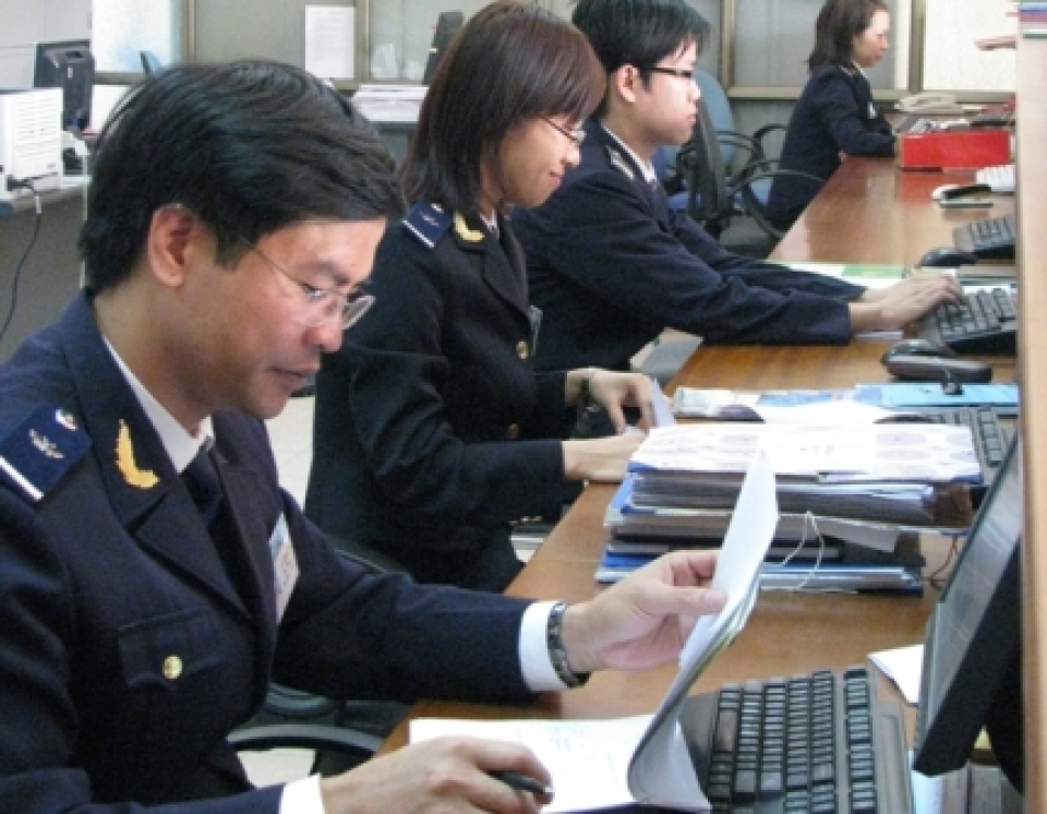 many changes in the vietnam customs organizational structure