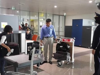 the policy on duty free luggage on exit and entry