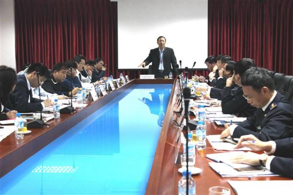 director general nguyen van can arranging officer on the basis of duties and work