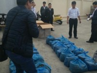 70kg of dried leaves suspected as khat leaves detected in a shipment