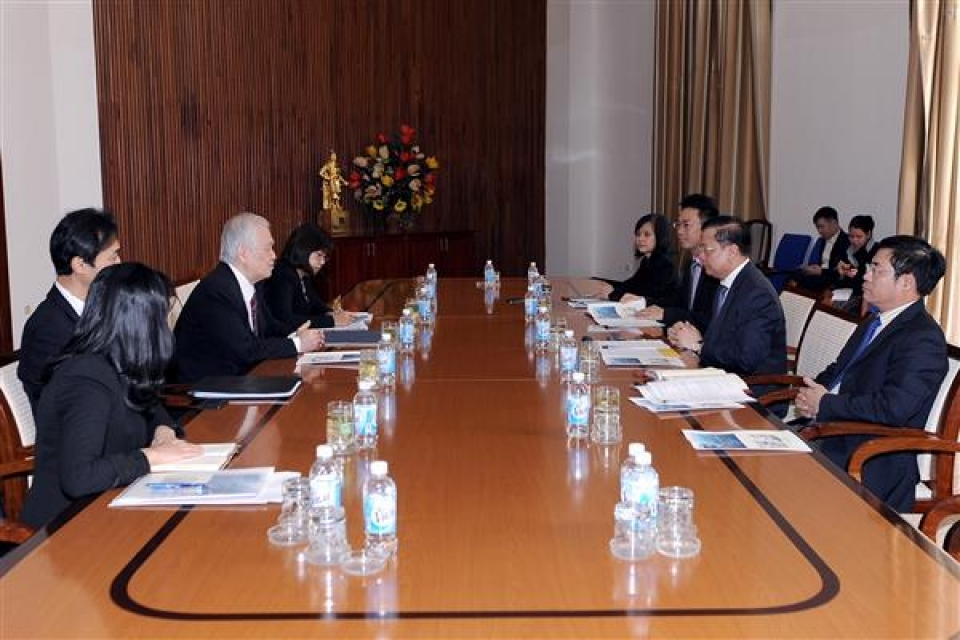 bank of tokyo mitsubishi is ready to coordinate with vietnam