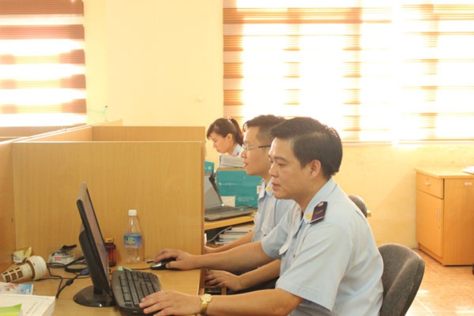 quang ninh customs training to improve the efficiency of post clearance audit force