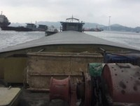 the ship illegally transporting nearly 600 tonnes of bauxite tailings was seized