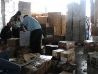 importing 3300 boxes of melted supplementary food