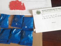 arrested a perpetrator trafficking nearly 1200 tablets of synthetic drugs