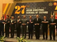 27th meeting of the asean directors general of customs discussing on trade facilitation