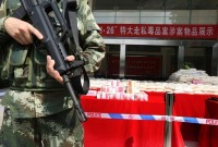 chinese customs seizes 156 tons of illegal drugs in two years