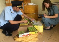 3600 tubes of chemical to ripen fruit smuggled from china