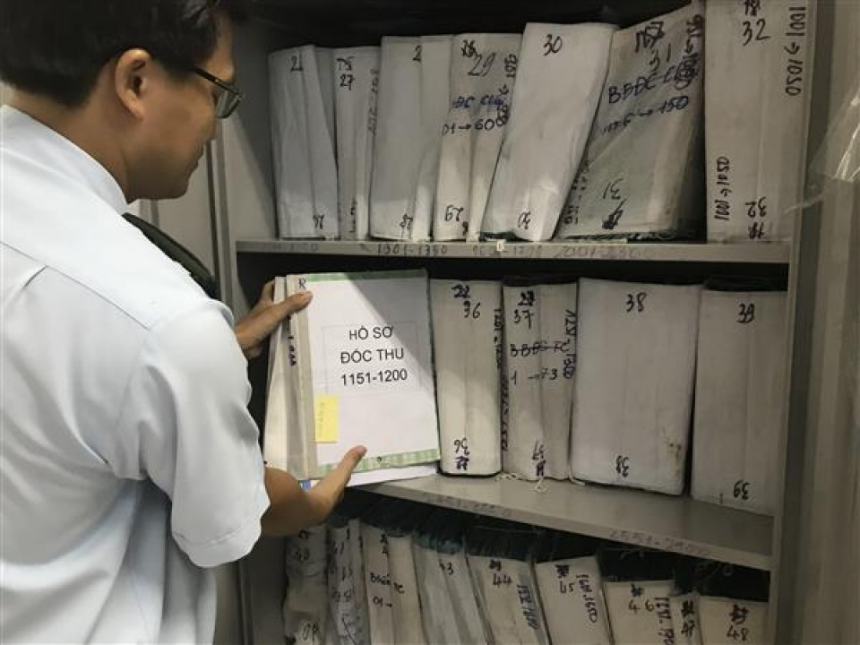 ho chi minh city customs department handled and collected nearly vnd 200 billion of tax debts