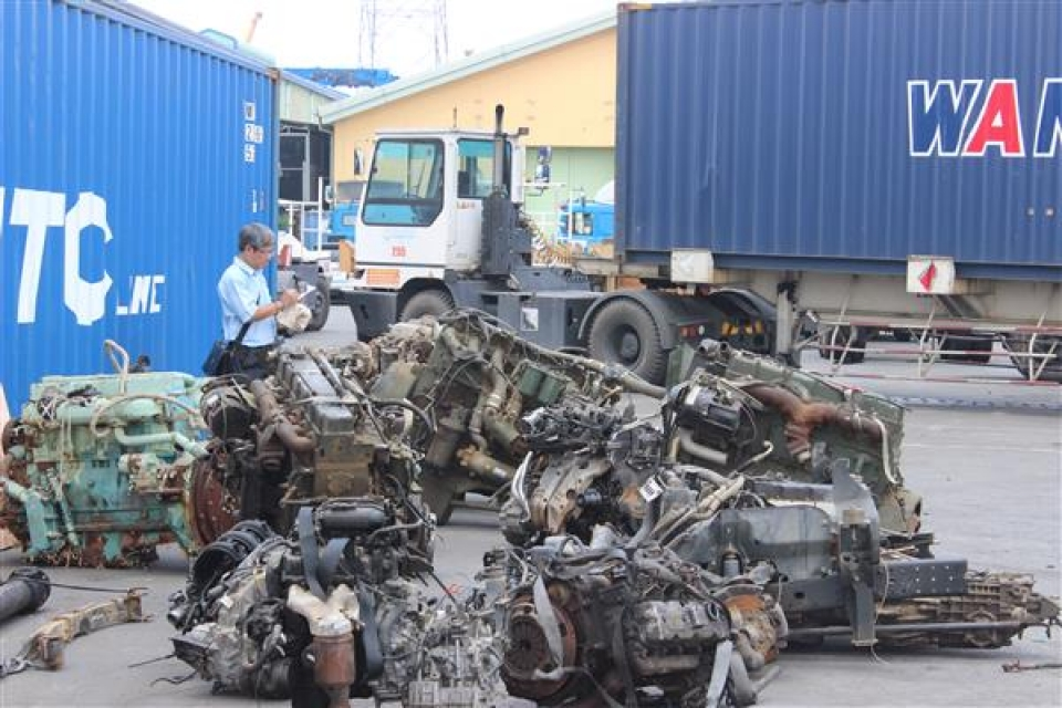 scrap not meet import standards will be enforced to be re exported