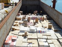 turkish customs units confiscate record 33 million packs of smuggled cigarettes