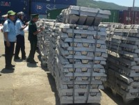detected aluminium ingot and copper smuggling through da nang port