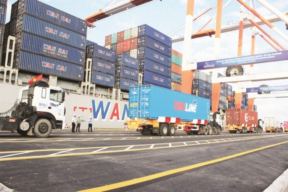 export growth rate declined