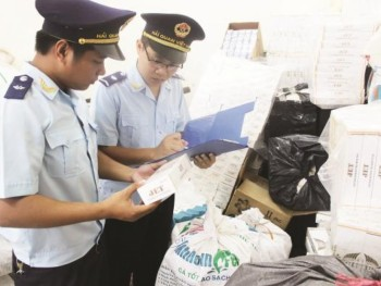 quang tri cigarette smuggling is still hot issue
