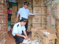 strictly inspect and handle for cigarette smuggling case