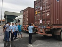 enterprises need to equip working conditions of customs at warehouses and sites