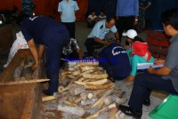hiring 4 million vnd to declare smuggled ivory