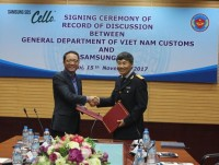 general department of vietnam customs signed a record of discussion with samsung sds