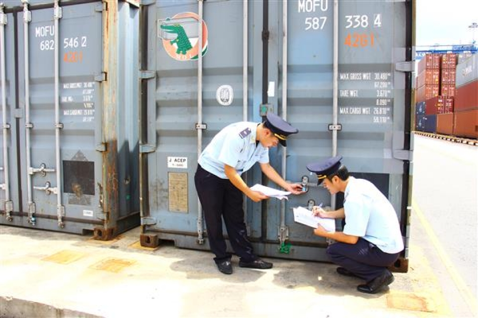 ba ria vung tau customs collected over 14900 billion vnd