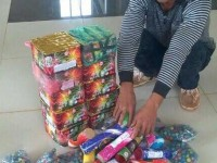quang nam customs seizes smuggled fireworks