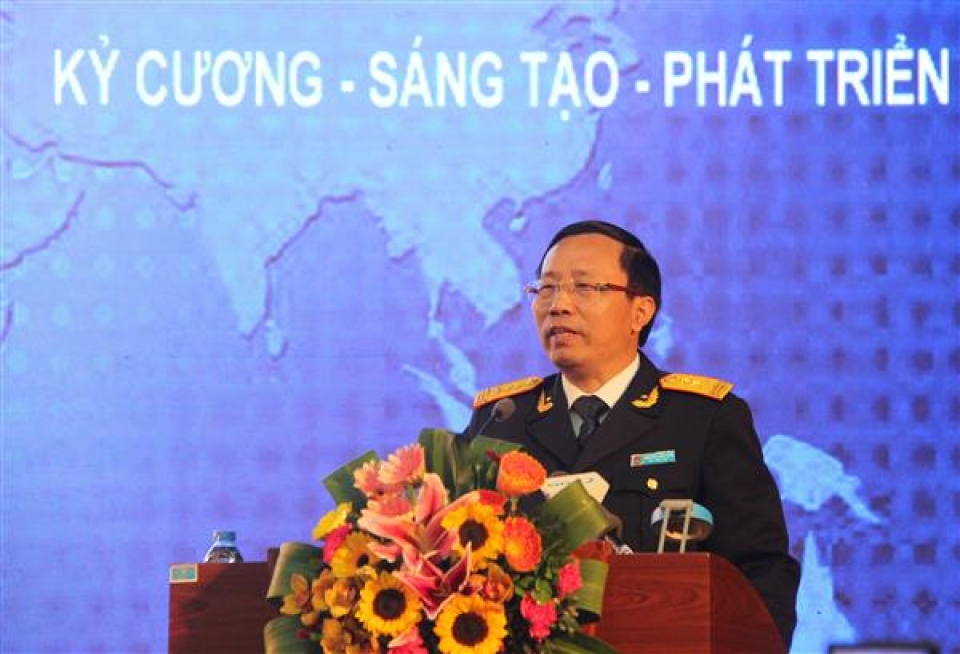 director general nguyen van can enhancing rules and disciplines to fulfil assigned tasks
