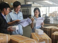 hcmc customs department accompanies with the business