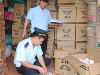 shortcomings in the handling of smuggled tobacco