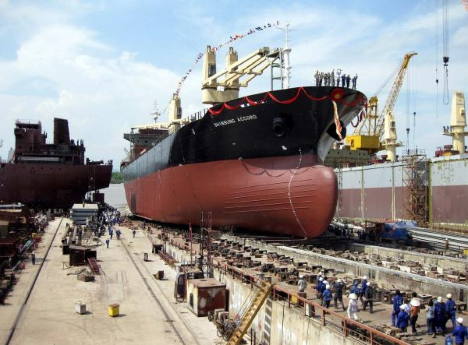 shortcomings in management of duty free goods for shipbuilding